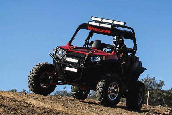Whelen Continuum on Off-Road Vehicle